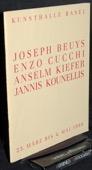 Kunsthalle Basel, Beuys / Kounellis / Kiefer / Cucchi