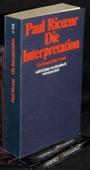 Ricoeur, Die Interpretation