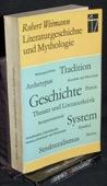 Weimann, Literaturgeschichte und Mythologie
