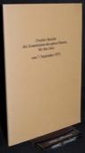 Kommission der guten Dienste fuer den Jura, Zweiter Bericht