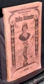 Schweizer, hygienischer Volks-Kalender 1909