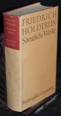 Hoelderlin, Saemtliche Werke