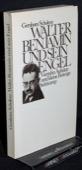 Scholem, Walter Benjamin und sein Engel