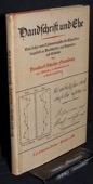 Schultze, Handschrift und Ehe