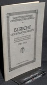 SGB, Bericht des Bundeskomitees 1920-1924