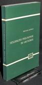 Konrad, Hoelderlins Philosophie