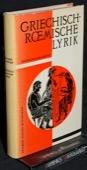 Kleinstueck, Griechisch-roemische Lyrik