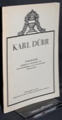 Karl Duerr, Gedenkschrift