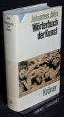 Jahn, Woerterbuch der Kunst