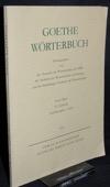 Goethe-Woerterbuch, 1/10: Ausfuehrungsart-azurn
