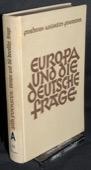 Foerster, Europa und die deutsche Frage