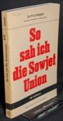 Visser, So sah ich die Sowjetunion