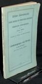 Jahresbericht 1894, Lohnbewegungen und Streiks