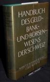 Handbuch, des Geld-, Bank- und Boersenwesens