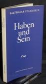 Staehelin, Haben und Sein