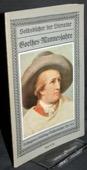 Hoeffner, Goethes Mannesjahre
