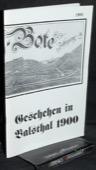 Geschehen, in Balsthal 1900
