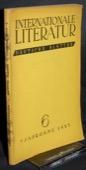 Internationale Literatur, Deutsche Blaetter 1937/06
