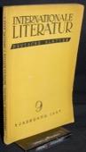 Internationale Literatur, Deutsche Blaetter 1937/09