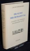 Burckhardt, Die Kunst der Betrachtung