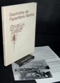 Aeschbacher, Geschichte der Papierfabrik Balsthal 1883-1977 und die Entstehung einer neuen Industrie