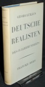 Lukacs, Deutsche Realisten