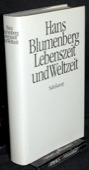 Blumenberg, Lebenszeit und Weltzeit