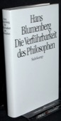 Blumenberg, Die Verfuehrbarkeit des Philosophen
