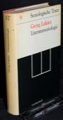 Lukacs, Literatursoziologie