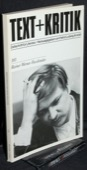 Text + Kritik, Rainer Werner Fassbinder