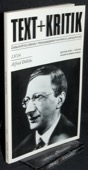 Text + Kritik, Alfred Doeblin