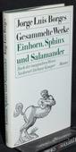 Borges / Guerrero, Einhorn, Sphinx und Salamander
