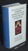 Herder, Schriften zur Aesthetik und Literatur