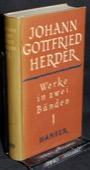 Herder, Werke in zwei Baenden [1]