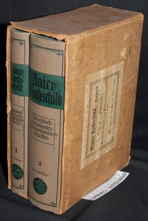 Maier Rothschild, Handbuch der gesamten Handelswissenschaften