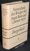 Burgerbuch, Stadt Bern auf 1970