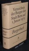 Burgerbuch, Stadt Bern auf 1975