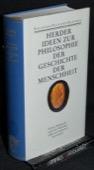 Herder, Ideen zur Philosophie der Geschichte der Menschheit