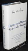 Hesse, Saemtliche Werke [17]