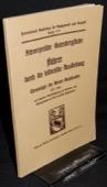 Chronologie, Berner Buchdrucker 1537-1831