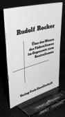 Rocker, Ueber das Wesen des Foederalismus