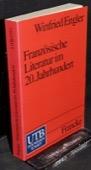 Engler, Franzoesische Literatur im 20. Jahrhundert