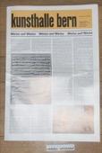 Kunsthalle Bern, Weiss auf Weiss