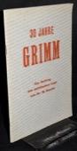 Baechi, 30 Jahre Grimm