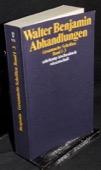 Benjamin, Abhandlungen [3]
