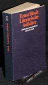 Bloch, Literarische Aufsaetze