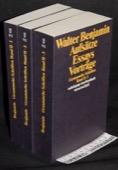 Benjamin, Aufsaetze, Essays, Vortraege