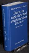 Karrer / Kreutzer, Daten der englischen und amerikanischen Literatur von 1700 bis 1890