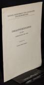 Berner Zeitschrift, Inhaltsverzeichnis 1939-1950