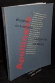 Apollinaire, Wortfuehrer der Avantgarde